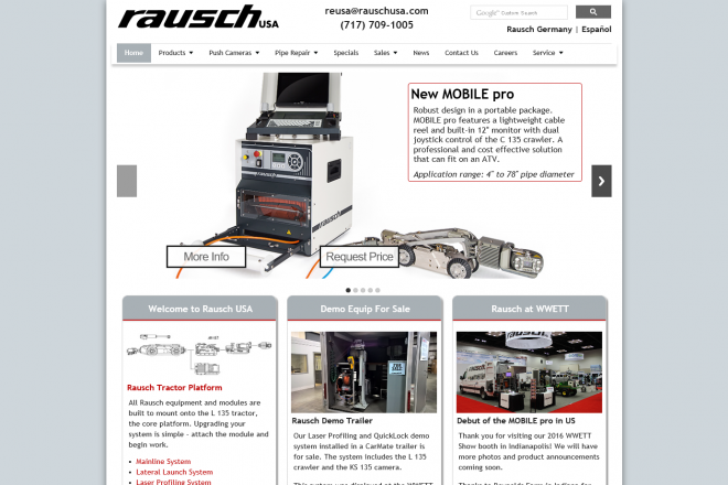 RauschUSA Website