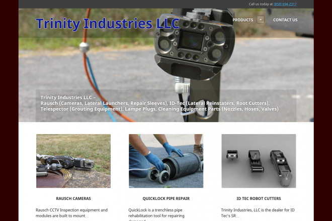 Trinity Industries LLC Website